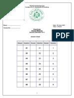 Final Exam (Internal Medicine) Third Level June 2011 - Copy
