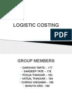 Logistic Costing