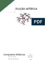 SUBSTITUIÇÃO ALIFATICA