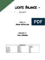 Delicate Balance - FULL Big Band - LaBarbera