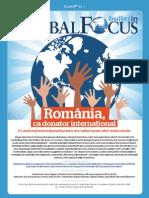 Global Focus Bulletin - România, ca donator internaţional