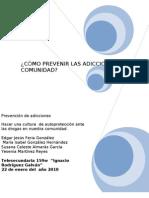 Prevencion de Adicciones Yeni Edgar Isabel Susana