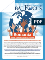 Global Focus Bulletin - Romania as an International Donor