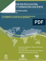 Investigacion en Educacion Pedagogica y Formacion Docente. Libro1