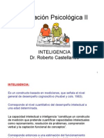 Evaluacion Psicologica II Clase 1