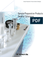 GLS Sample Preparation Products
