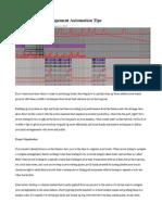 Ableton Live 9 Arrangement Automation Tips