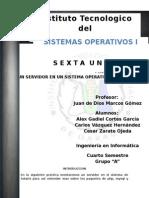 Reporte Sistemas