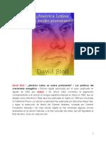 Stoll, David - America Latina Se Vuelve Protestante