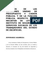 Dictamen_firmado_comisiones Unidas Issstezac (16-Feb-2015)