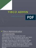 Tibco Admin Basic