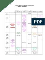 Jadwal Kuliah Blok 6 New 2012