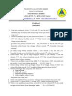 Evaluasi Gas Ideal