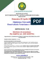 20080420 - Vesuvio escursione giovanile Cai