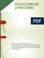 Complicaciones de Fractura de Humero
