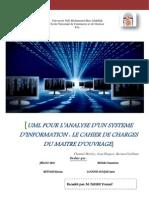 UML POUR L'ANALYSE D'UN SYSTEME D'INFORMATION