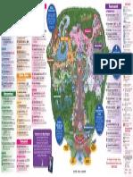 Magic Kingdom Park Map September 2012