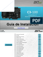 C3 100 Installation Guide ZKTECO