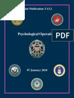 Psychological Operations (PsyOps)  JP3-13.2