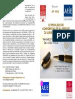 COLLOQUE 27-02 Programme Tristan Carayon