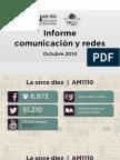 Informe Redes Octubre 2014