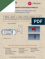 Modélisation et optimisation d'un absorbeur de choc