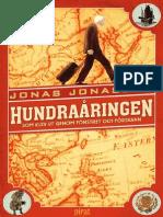 Jonasson Jonas Hundraaringen Som Klev Ut Genom Fonstret Och