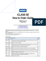iCLASS SE How to Order Guide