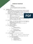 2014 11 07 Outline Transfer Taxation