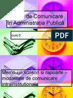 Comunicare an II AP Curs 5