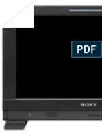 Sony PVM-1741 Oled manual
