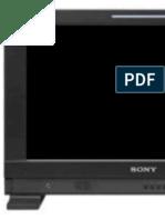 Sony PVM-1741 Oled manual