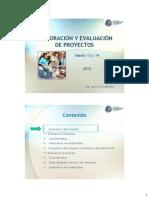 Evaluacion y Elaboracion de Proyectos