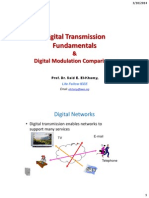 Lec 2 Digital Transmission, Channel Capacity and Dig Modulation Comparisons- Comact