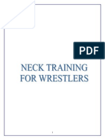 Neck Training for Wrestlers-Client