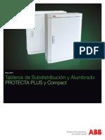 Tableros de Subdistribución y Alumbrado 480 v ABB