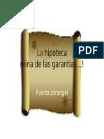 La Hipoteca Distyintivos