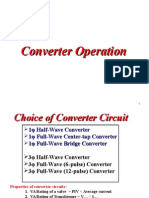 Chapter 3- Converter Operation