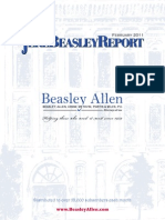 The Jere Beasley Report, Feb. 2011