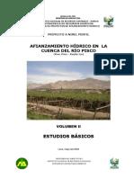 Pisco Hidrología