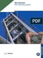 Polysius Dopol 90 Preheater and Prepol Calcining System