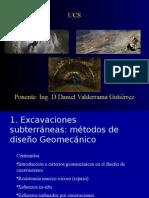 excavaciones subterraneas