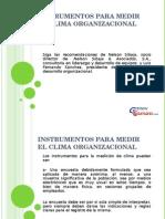 Instrumentos Para Medir El Clima Organizacional