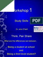 Study Skills (17th Feb) 2015