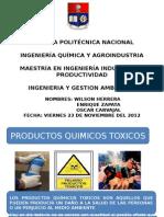 Productos Quimicos Toxicos