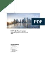 Cisco Dial Peer Configuration Guide