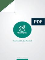 Olainfarm Product Catalogue