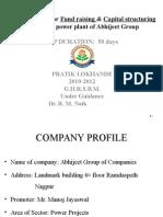 Fund Raising & Capital Structuring