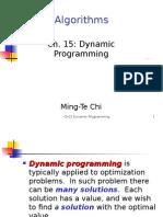 Ch15 Dynamic Programming