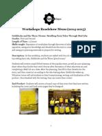 WorkshopsRoadshowMenu2014-15